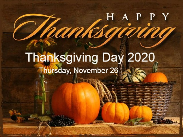 Thanksgiving 2020 Images