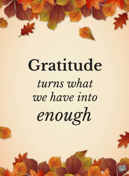 Thanksgiving 2021 Gratitude Images