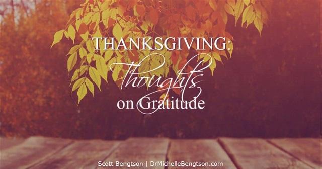 Thanksgiving Gratitude with Pics